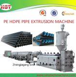 Linha de produção plástica da extrusão da tubulação da água de esgoto do HDPE
