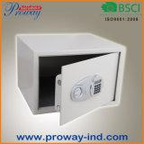 Коробка сейфа гостиницы обеспеченностью сигнала тревоги вибрации индикации LCD
