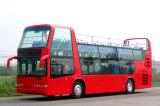 観光する旅行のための二階建てバス