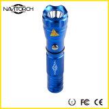 Lanterna elétrica delicada recarregável do diodo emissor de luz do lúmen 260lm 160m (Nk-167)