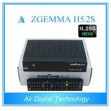 Doppelsatellitenempfänger des tuner-HD des Linux-Enigma2 DVB-S/S2 Digital mit Hevc/H. 265 Zgemma H5.2s