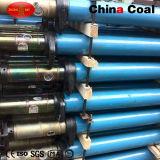 Dwの単一の調節可能な鋼鉄油圧支柱