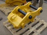A máquina escavadora parte o acoplador rápido manual para a máquina escavadora