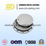 Ductitle Eisen-Einsteigeloch-Deckel für Entwässerungssystem