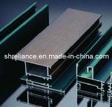 Profils d'aluminium/en aluminium extérieurs en bois d'extrusion pour le guichet et la porte