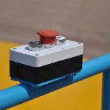 Carro elétrico do trilho da tubulação de aço da potência da barra do baixo preço