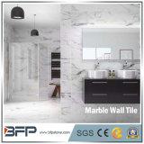 Telha de mármore interior de mármore da laje da parede de Bookmatched para o revestimento do banheiro