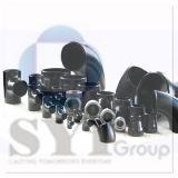 Encaixe de tubulação preto do HDPE da solda de extremidade do aço de carbono do ferro da programação 40 de ASTM A234 Wpb