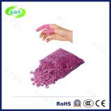 Berço antiestático do dedo da cor-de-rosa do látex do ESD da alta qualidade de limpo sem pó