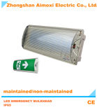 IP65 LED de luz de emergencia mamparo