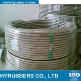 Boyau de teflon tressé en acier de vente en gros de constructeur de Hyrubbers avec le tube de PTFE
