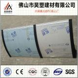 Hoog Plastic Polycarbonaat Qualtity die Stevig Blad afbaarden