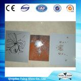vidro da impressão da tela de seda de 3-19mm para o aparelho electrodoméstico/mobília