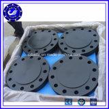 Flange cega de tubulação de aço de carbono de China A105 P250gh