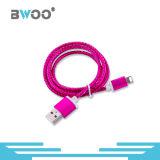 Cable de datos del USB del relámpago del conector de la alta calidad para el teléfono móvil