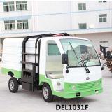 Carro eléctrico del saneamiento del vehículo eléctrico de la basura con el elevador de automóviles (DEL1031F)