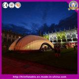 Структура шатра кубика горячего надувательства гигантская раздувная, раздувной шатер купола, раздувные шатры для случаев