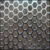 Горяч-Окунутый гальванизированный Perforated лист металла