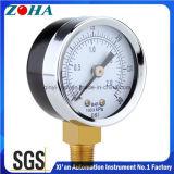 Manomètres acceptables d'appareil de contrôle de pression d'OEM 63mm 100mm