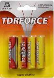 1.5V talla alcalina no recargable de la batería seca Lr6-AA con el Ce aprobado para el juguete