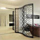 BronzeColor Metal Raum Divider Screen Partition für Hotelzimmer Decoration