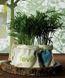 Saco de Tote Eco-Verde da juta (EOB-20)