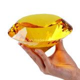 """5.9 """" украшений места венчания пресс-папья диаманта 150mm подарка кристаллический уникально"""