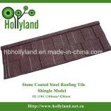 Las piedras cubiertas de teja de acero (láminas Tipo)