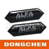 Etiquetas engomadas de epoxy claras autas-adhesivo de la resina del precio de fábrica que cubren con una cúpula