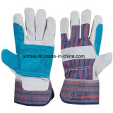 De korte Handschoenen van het Lassen, de Werkende Handschoenen van de Veiligheid, 10.5 '' herstelde Handschoenen van het Leer van de Palm, de Versterkte Werkende Handschoenen van het Leer van de Palm, de Leverancier van de Handschoenen van de Bestuurder