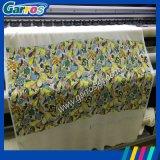 Tipo impresora de la correa de la anchura de la impresión de Garros el 1.6m de la materia textil de Digitaces con la cabeza de impresión doble