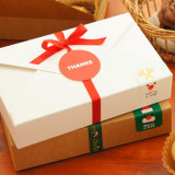 Paper colorido Cardboard Cookies Packing Gift Box com Competitive Price