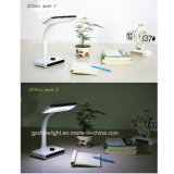 Way duplo Cordless ou com diodo emissor de luz Table Lamp de Cord, Desk Lamp
