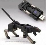 Robot Dog Shape Transformer USB 2.0 Memory Stick pour cadeau