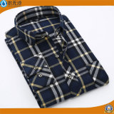 Camice di vestito all'ingrosso dal cotone delle camice di modo degli uomini con il tasto