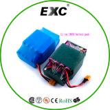 Pacchetto del sacchetto 36V della batteria del polimero del litio 18650 serie e parallelo