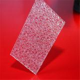 Feuille de polycarbonate gravée en relief par résistance à haute impression avec la protection UV