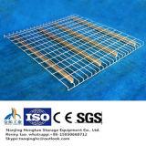 Decking enduit lourd de maille de fil d'acier de PVC pour le défilement ligne par ligne de mémoire de palette