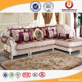 Sofá gris de la tela del sofá europeo del estilo (UL-Y905A)