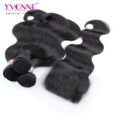 Virgin brasiliano Hair Body Wave con Closure