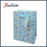 Yiwuの工場価格のロゴによって印刷される自然なデザイン紙袋をカスタマイズしなさい