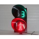 300mm rote grüne Fußgängerampel mit Count-down-Timer