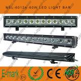 60W 20inch LED outre du guide optique de route, 6000k, 5100lm LED outre de guide optique de route