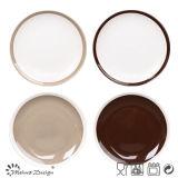 27cm Dinner Plate Seesame Shinny Glazed Design Trend Plate