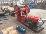 De Maalmachine van de kaak met Dieselmotor, de Mobiele Maalmachine van de Kaak