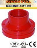 ASTM-A536 300 P-/induktiles Eisen-Grooved konzentrische Reduzierstück-Befestigungen