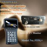 """4.3 """" LCD Monitor mit Sat-Sucher"""