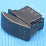 SGS IP67 12V LED Marine Rocker Switch