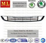 Lower fronte Bumper Grille per Skoda Octavia From 2008 (1ZD 853 671)