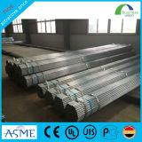Tubi d'acciaio galvanizzati St37 del materiale da costruzione dei tubi dell'armatura